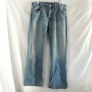 7 For All Mankind mens distressed jeans